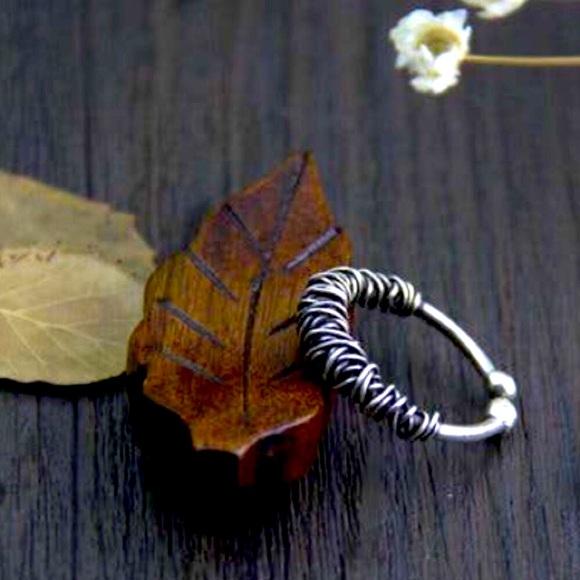 925 Rope Ring